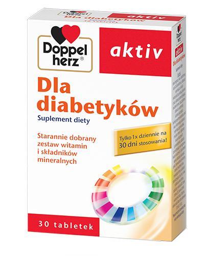 DOPPELHERZ AKTIV Dla diabetyków - 30 tabl. - Drogeria Melissa
