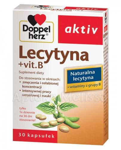 DOPPELHERZ AKTIV Lecytyna + vit.B - 30 kaps.