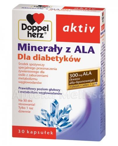 DOPPELHERZ AKTIV Minerały dla diabetyków - 30 kaps.