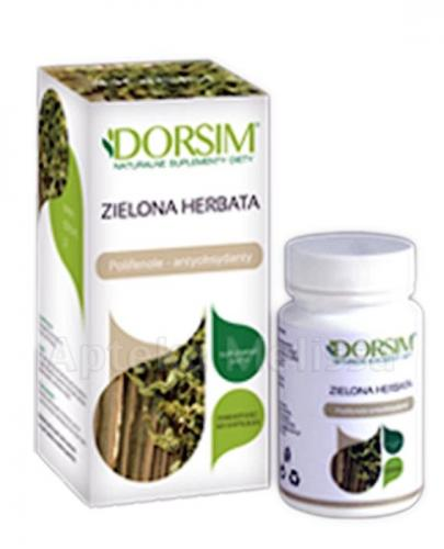 DORSIM VIRIDI TEA EXTRACT Ekstrakt z zielonej herbaty - 60 kaps.  - Apteka internetowa Melissa
