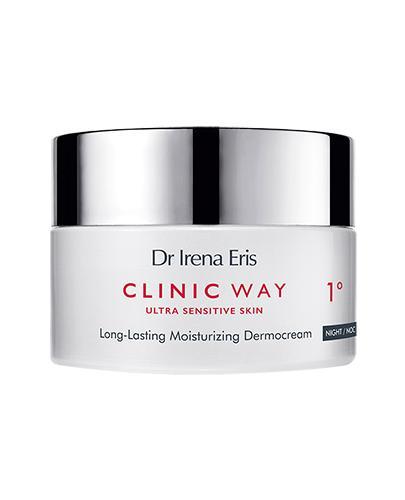 Dr Irena Eris Clinic Way Dermokrem długotrwale nawilżający 1° na noc - 50 ml Po 30. roku życia - cena, opinie, wskazania - Apteka internetowa Melissa