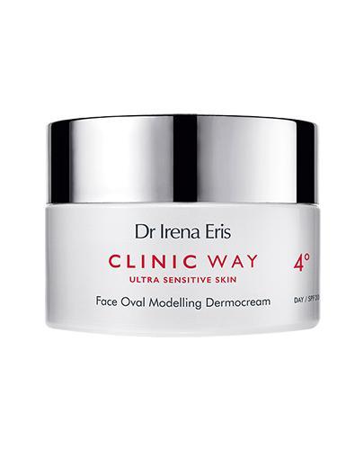 Dr Irena Eris Clinic Way Dermokrem modelujący kontur twarzy 4° na dzień - 50 ml Po 60. roku życia - cena, opinie, wskazania - Drogeria Melissa