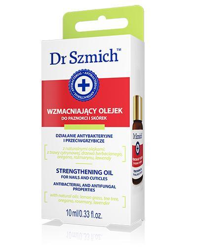 Dr Szmich Wzmacniający olejek do paznokci i skórek - 10 ml - cena, opinie, wskazania - Drogeria Melissa