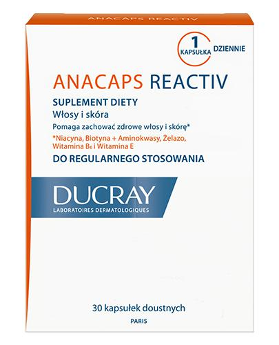 DUCRAY ANACAPS REACTIV (TRIACTIV) - 30 kaps. - Drogeria Melissa