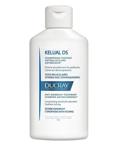 Ducray Kelual DS Szampon do postępowania w ciężkich stanach łupieżowych - 100 ml - cena, opinie, właściwości - Apteka internetowa Melissa
