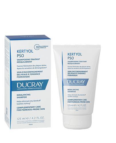 DUCRAY KERTYOL PSO Szampon o działaniu keratolicznym - 125 ml - Drogeria Melissa
