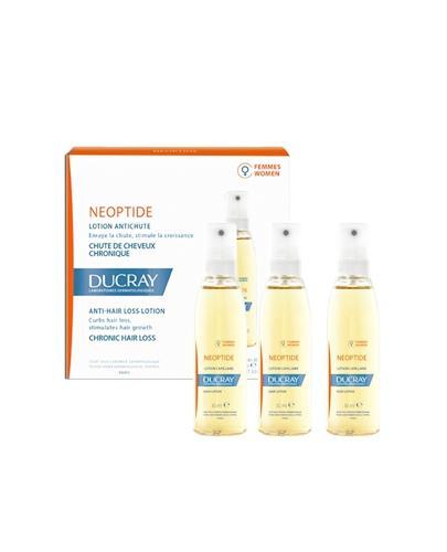 DUCRAY NEOPTIDE Kuracja przeciw wypadaniu włosów - 3 x 30 ml - Apteka internetowa Melissa