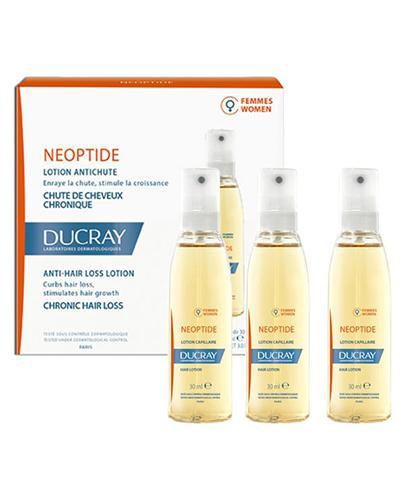 Ducray Neoptide Płyn przeciw wypadaniu włosów dla kobiet - 3 x 30 ml - cena, opinie, stosowanie - Apteka internetowa Melissa