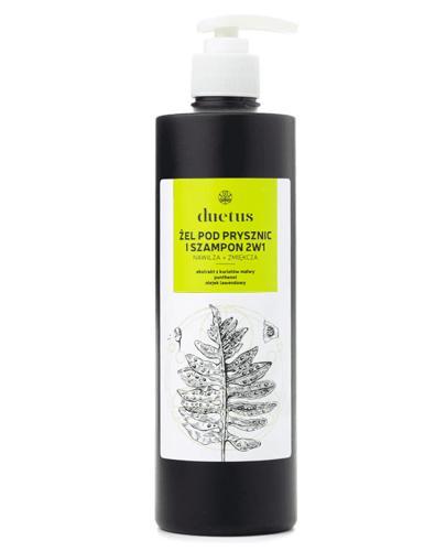 Duetus Żel pod prysznic i szampon 2w1 - 500 ml - cena, opinie, właściwości - Drogeria Melissa