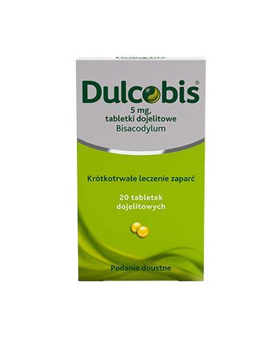 DULCOBIS 5 mg - 20 tabl. Lek na zaparcia. - Apteka internetowa Melissa