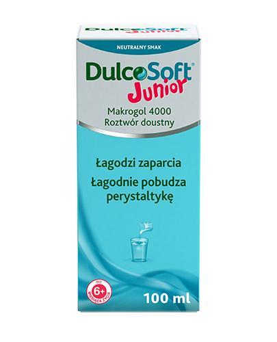 DULCOSOFT JUNIOR Płyn - 100 ml. Sposób na zaparcia u dzieci. - Apteka internetowa Melissa