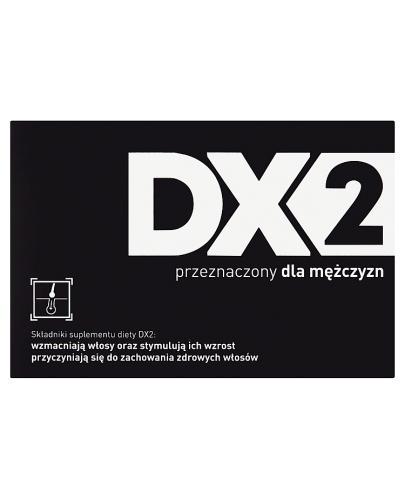 DX2 Przeciw wypadaniu włosów - 30 kaps. - Apteka internetowa Melissa
