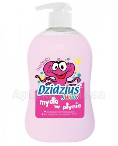 DZIDZIUŚ JUNIOR Mydło w płynie o zapachu truskawkowym - 300 ml - Apteka internetowa Melissa
