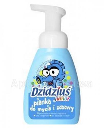 DZIDZIUŚ JUNIOR Pianka do mycia i zabawy o zapachu gumy balonowej - 275 ml - Apteka internetowa Melissa