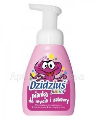 DZIDZIUŚ JUNIOR Pianka do mycia i zabawy o zapachu truskawkowym - 275 ml - Apteka internetowa Melissa