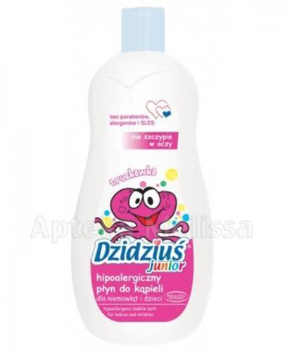 DZIDZIUŚ JUNIOR Hipoalergiczny płyn do kąpieli dla niemowląt i dzieci o zapachu truskawkowym - 500 ml - Apteka internetowa Melissa