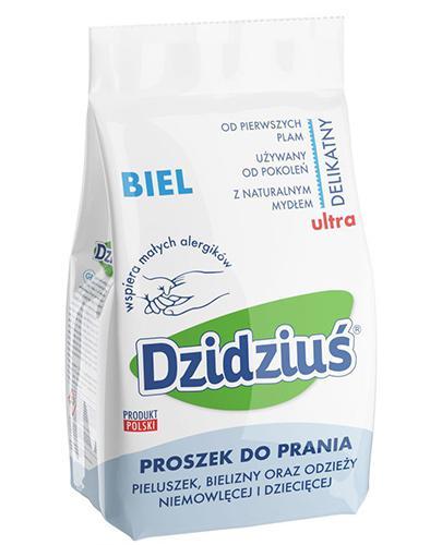 DZIDZIUŚ Hipoalergiczny proszek do prania biel - 3 kg