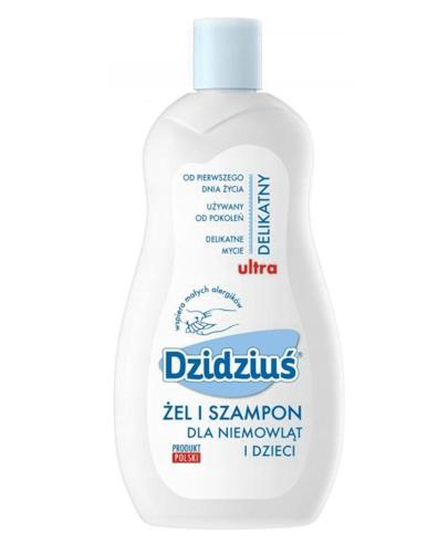 DZIDZIUŚ Hipoalergiczny żel & szampon - 500 ml - Apteka internetowa Melissa