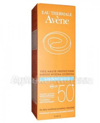 AVENE Emulsja z bardzo wysoką ochroną przeciwsłoneczną SPF50+ - 50 ml - Apteka internetowa Melissa