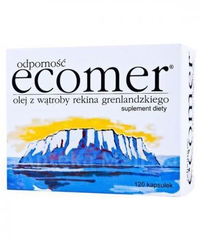 ECOMER Odporność - 120 kaps. suplement diety - opinie, stosowanie, ulotka - Apteka internetowa Melissa