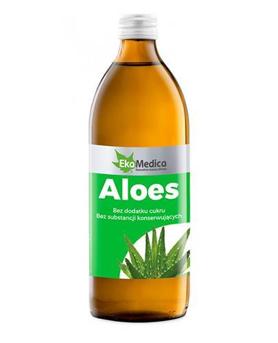 EKAMEDICA Aloes sok 99,8% - 500 ml - Apteka internetowa Melissa