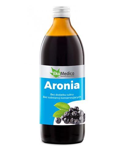 EKAMEDICA Aronia sok 100% - 500 ml - Apteka internetowa Melissa