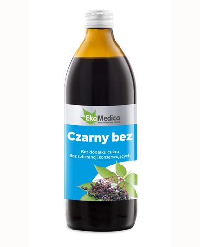 EKAMEDICA Czarny bez sok 100% - 500 ml - Apteka internetowa Melissa