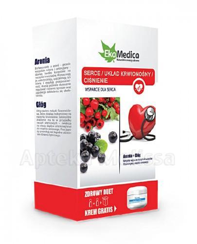 EKAMEDICA DUET Zestaw serce Aronia 500 ml + Głóg 500 ml
