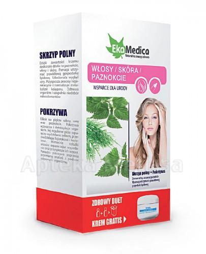 EKAMEDICA DUET Zestaw włosy skóra Skrzyp polny 500 ml + Pokrzywa 500 ml - Apteka internetowa Melissa