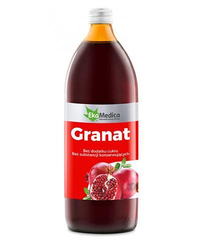 EKAMEDICA Granat sok 100% - 1000 ml