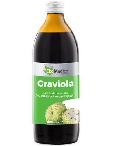 EKAMEDICA Graviola sok 100% - 500 ml - Apteka internetowa Melissa