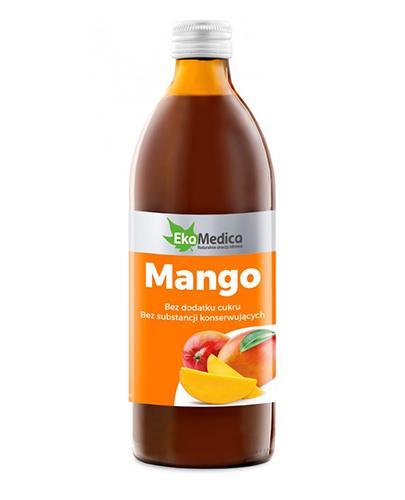 EKAMEDICA Sok z owoców mango 100% - 500 ml - Apteka internetowa Melissa