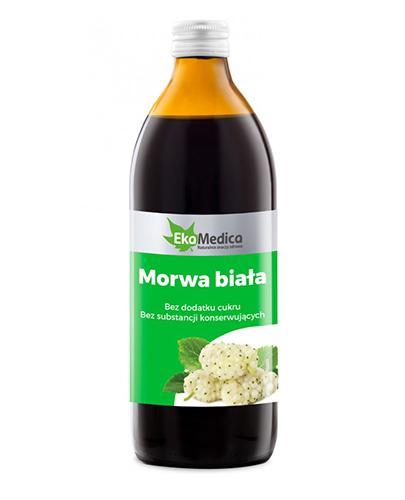 EKAMEDICA Morwa biała sok 99,8% - 500 ml - Apteka internetowa Melissa