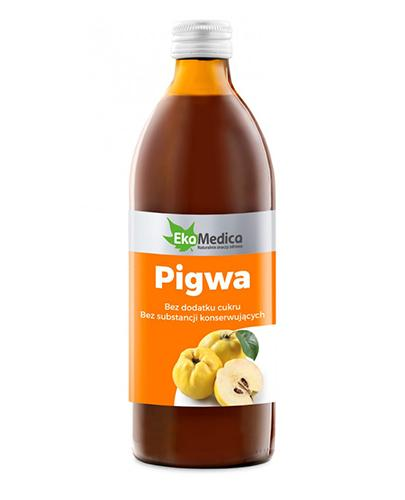 EKAMEDICA Pigwa sok 100% - 500 ml - Apteka internetowa Melissa