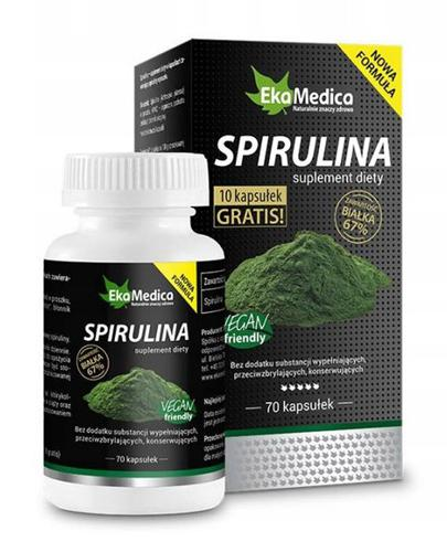 EKAMEDICA Spirulina - 60 kaps.