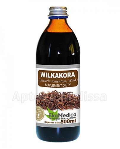EKAMEDICA Wilkakora sok 100% - 500 ml - Apteka internetowa Melissa