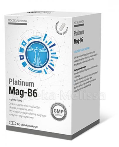 EKOVITAL PLATINUM MAG-B6 - 60 tabl - Apteka internetowa Melissa