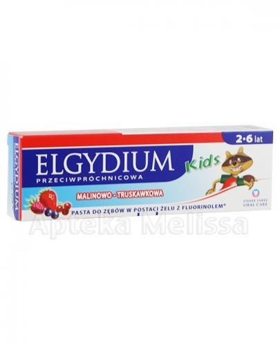 ELGYDIUM KIDS Żel do zębów o smaku malinowo-truskawkowym - 50 ml - Apteka internetowa Melissa