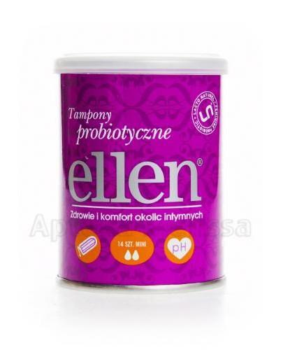 ELLEN Tampony probiotyczne MINI - 14 szt.  - Apteka internetowa Melissa