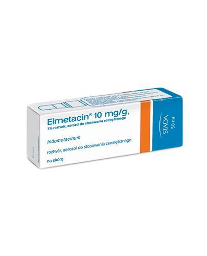ELMETACIN Aerozol leczniczy - 50 ml - Apteka internetowa Melissa