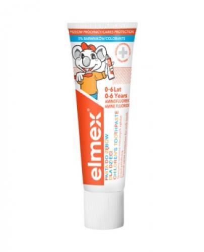 ELMEX Pasta do zębów dla dzieci 0-6 lat - 50 ml - cena, opinie, stosowanie