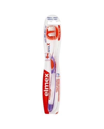 ELMEX Szczoteczka do zębów przeciw próchnicy, miękka - 1 szt. - Apteka internetowa Melissa