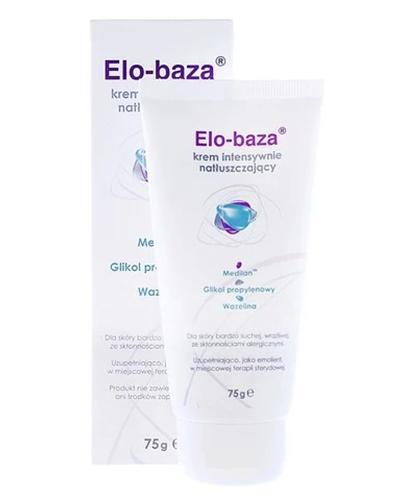 ELO-BAZA Krem intensywnie natłuszczający - 75 g  - Drogeria Melissa