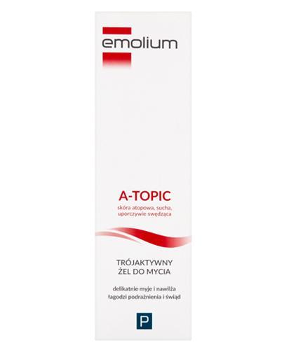 EMOLIUM A-TOPIC Trójaktywny żel do mycia - 200 ml