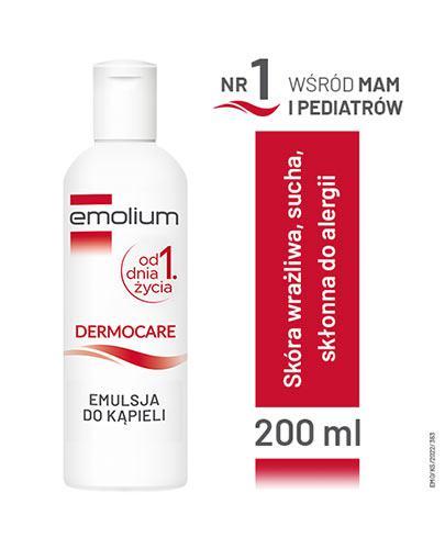 EMOLIUM DERMOCARE Emulsja do kąpieli - 200 ml