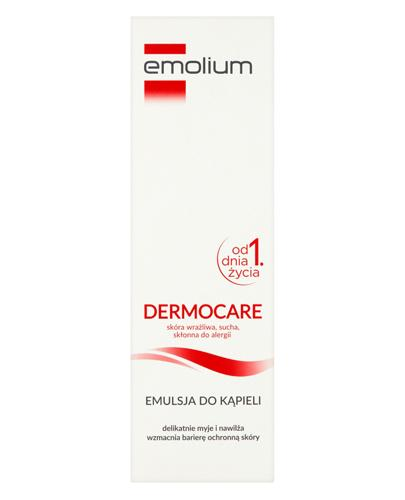 EMOLIUM DERMOCARE - 400 ml - emulsja do kąpieli - cena, opinie, właściwości - Drogeria Melissa