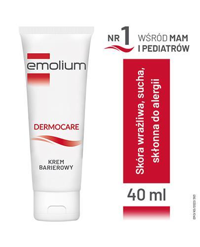 EMOLIUM DERMOCARE Krem barierowy - 40 ml - cena, opinie, właściwości  - Drogeria Melissa