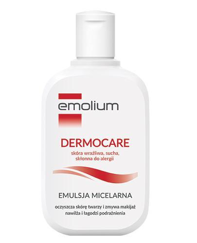 Emolium Łagodna emulsja micelarna + Próbka Emulsja do kąpieli - Apteka internetowa Melissa