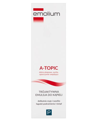 EMOLIUM A-TOPIC Emulsja trójaktywna do kąpieli - 200 ml