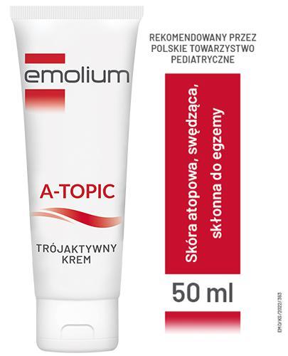 EMOLIUM A-TOPIC Krem trójaktywny - 50 ml - Apteka internetowa Melissa